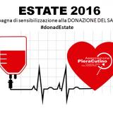 Dona d'Estate: campagna per la donazione del Sangue promossa dall'Associazione Cutino