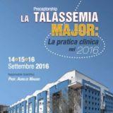 """Corso di formazione """"La Talassemia Major: la pratica clinica nel 2016"""""""