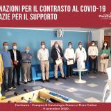 Donazioni per il contrasto al Covid-19 Grazie per il supporto!