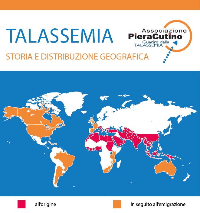 storia e distribuzione della talassemia