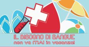 donazione sangue estate 2016